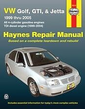 $20 • Buy VW Golf Jetta GTI Haynes Repair Manual NEW 99-05 Owners Book Service
