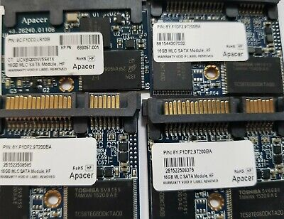 $ CDN79.53 • Buy Lot Of 10 Apacer 16gb Mlc Sata Solid State Drive Ssd Warranty