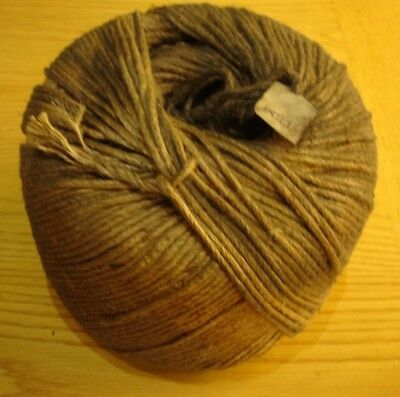 Stock Clearance. 4mm Cabled Jute Rope Or Sashcord 2kg Ball. Dirty But Useable. • 18£
