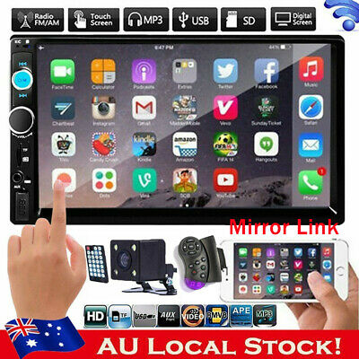 AU145.99 • Buy 7'' Android 10.0 Double DIN 16G Quad Core GPS Bluetooth Car Stereo MP5 Player AU