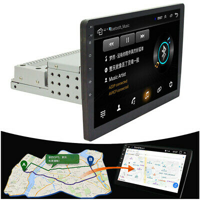 $ CDN191.91 • Buy Car GPS 10.1 Inch 1Din Touch Screen Quad-Core Stereo Radio Player Mirror Link
