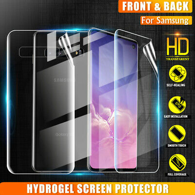AU4.95 • Buy Samsung Galaxy S8 S9 S10 Plus S10e Note10+ 8 9 Full Coverage Screen Protector