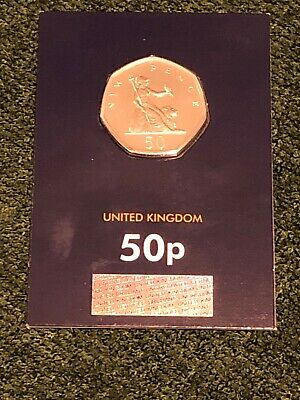 2019 Britannia 50p Fifty Pence Coin Brilliant Uncirculated Uk BUNC  • 4.95£