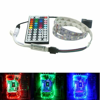 $3.88 • Buy 5050 RGB LED Strip Light For PC Computer Case SATA Power Supply Interface Fixed