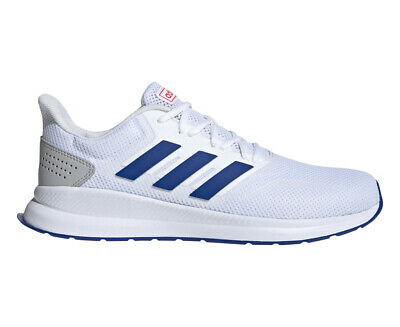 AU59.99 • Buy Adidas Men's Runfalcon Running Sports Shoes - White/Collegiate Royal/Active Red