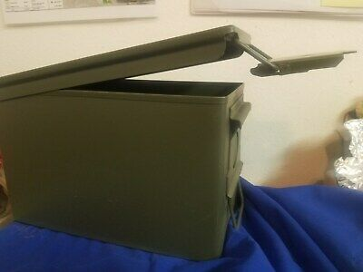 $17.50 • Buy Military SurplusM2A1 Green Ammunition Boxes With Rubber O-Ring