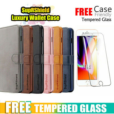 AU10.99 • Buy For IPhone 12 Mini Pro 6 6S 7 8 Plus X XS Max XR Wallet Leather Flip Case Cover