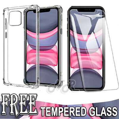 AU7.95 • Buy Apple IPhone 11 Pro XS Max XR X 7 8 Plus Clear Case Shockproof Heavy Duty Cover