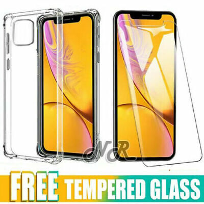 AU5.99 • Buy For IPhone 12 Mini 11 Pro XS Max XR X 7 8 Clear Case Shockproof Heavy Duty Cover