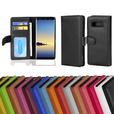 $ CDN11.99 • Buy Case For Samsung Galaxy NOTE 8 Phone Cover With Card Slots Wallet Book