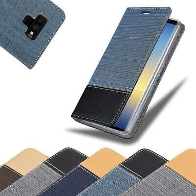 $ CDN11.99 • Buy Case For Samsung Galaxy NOTE 9 Phone Cover Denim Style Protective Wallet Book