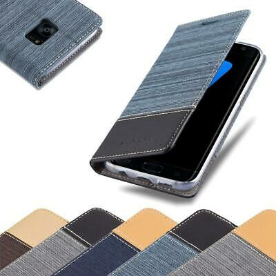 $ CDN11.99 • Buy Case For Samsung Galaxy S7 EDGE Phone Cover Denim Style Protective Wallet Book