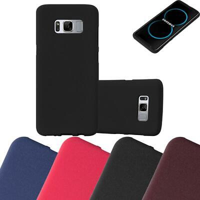 $ CDN7.50 • Buy Silicone Case For Samsung Galaxy S8 PLUS Shock Proof Cover Mat TPU Bumper