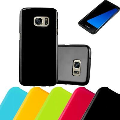 $ CDN7.50 • Buy Silicone Case For Samsung Galaxy S7 EDGE Shock Proof Cover Jelly TPU Bumper