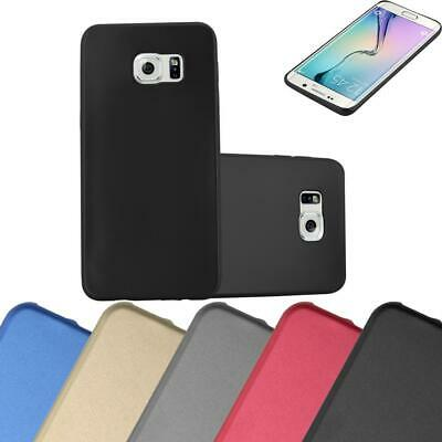 $ CDN7.50 • Buy Silicone Case For Samsung Galaxy S6 EDGE PLUS Shock Proof Cover Mat Metallic TPU