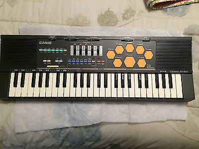 $169 • Buy Vintage  Casio Casiotone MT-520 Synthesizer Electronic Keyboard W/Drums Exc.Cond