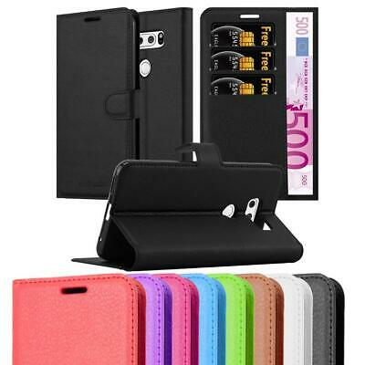 AU12.50 • Buy Case For LG V30 Phone Cover Protective Book Kick Stand