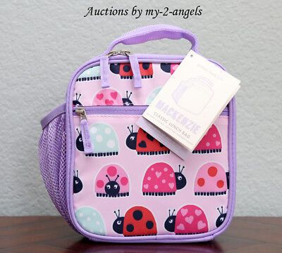 NEW Pottery Barn Kids LADYBUG Classic Lunch Bag Box NO NAME NO MONO *SOLD OUT! • 31.88£