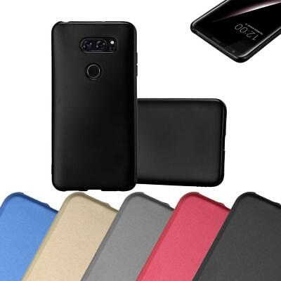 AU7.87 • Buy Silicone Case For LG V30 Shock Proof Cover Mat Metallic TPU