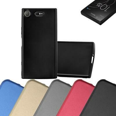 AU7.87 • Buy Silicone Case For Sony Xperia XZ1 Compact Shock Proof Cover Mat Metallic TPU