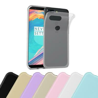 AU7.87 • Buy Silicone Case For OnePlus 5T Shock Proof Cover Ultra Slim TPU Gel
