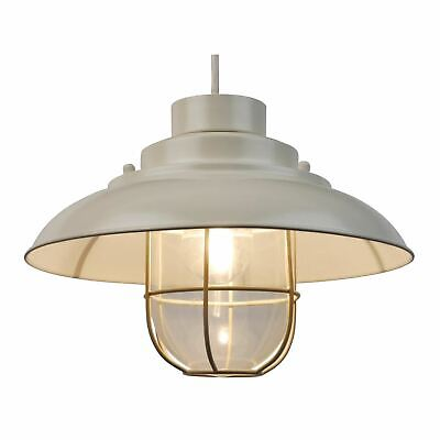 £25.99 • Buy Contemporary Cream Fishermans Ceiling Light Pendant Shade Lampshade Industrial