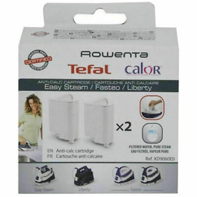 View Details 2x CALOR ROWENTA Steam Iron Anti Calc Filter Cartridge Cartridges XD9060E0 • 16.90£