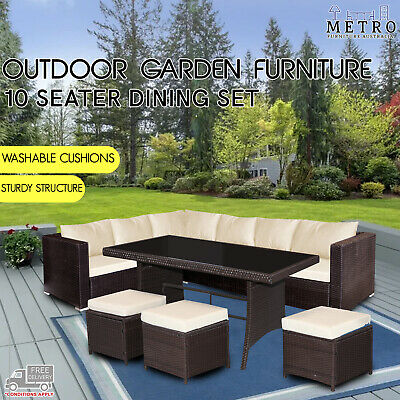 AU255 • Buy New Saffy 5PCs Outdoor Lounge Furniture Setting Sofa Set Patio,Garden,Outdoor