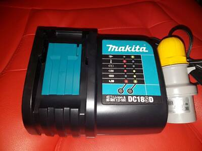 Makita DC18SD 7.2-18V Lithium Ion Battery Charger 2019 Replaces Of DC18RA 110v B • 24.99£