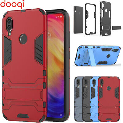 $6.99 • Buy For Xiaomi Redmi Note 7 6/ Note 7 6 Pro Shockproof Hybrid Armor Stand Shell Case