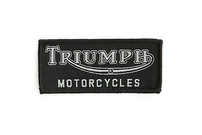 Triumph Black Patch • 3.50£