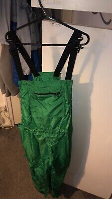 £15 • Buy Green Shell Suit Dungarees Uk Size 12/14