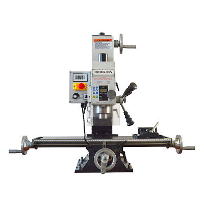 $1982.46 • Buy RCOG-25V Precision Mill/Drill Bench Top Mill And Drilling Machine 110V 27*7