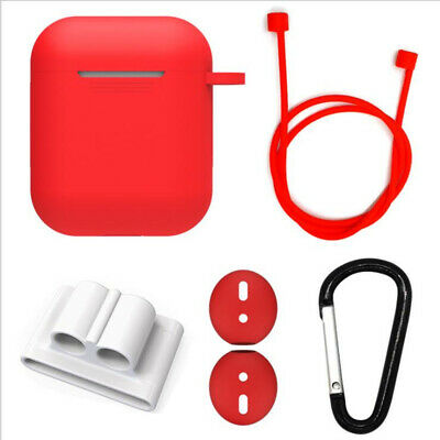 $ CDN3.76 • Buy 5 In 1 Silicone Protective Set Earphone Holder Case Strap Hook For Apple AirPods