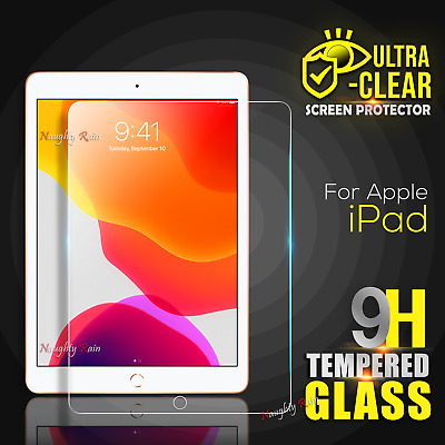 AU8.75 • Buy For IPad 7 7th Generation 8 8th Gen 10.2 Inch Tempered Glass Screen Protector