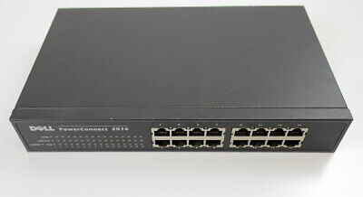 $10 • Buy Dell PowerConnect 2016 16-Port Rack Mountable 10/100 Switch - 7H989