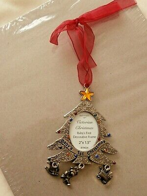 Past Times Babys 1st Christmas Hanging Photo Frame • 30£