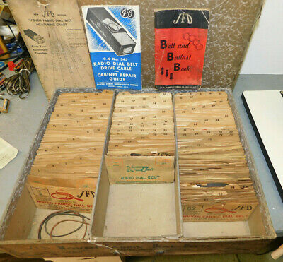 Vintage Tube Radio Tuner Dial Cord String Replacement .076 15ft.