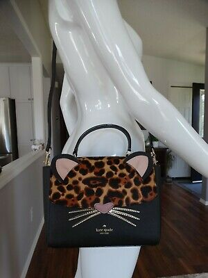 $ CDN240 • Buy NWT KATE SPADE Kerri Run Wild Leopard Cross Body Bag $399.00