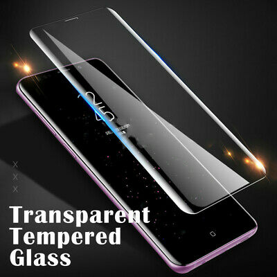$ CDN8.99 • Buy Case Friendly Tempered Glass Screen Protector Full Cover Samsung Galaxy S10 9 8
