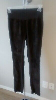 $ CDN30 • Buy DANIER Brown 100% Suede Leather Pants SIZE 6, Made In Canada Leather