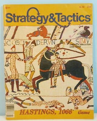 Strategy & Tactics #110 - Hastings 1066 TSR 1987 Unpunched • 29.95$