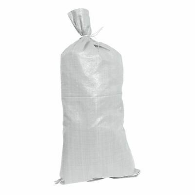 Silverline Sand Bags 10 Pack 750 X 330mm 80gsm Tie String Included 868732 • 6.69£