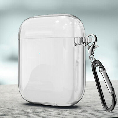$ CDN4.16 • Buy For Apple AirPods Wireless Charging Charger Transparent Case Soft Earphone Cover