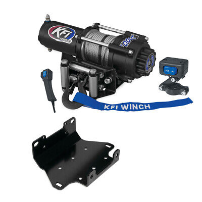 AU405.02 • Buy 3000 Lb KFI Winch Combo Kit (M1) For 2009-2014 Yamaha Grizzly 550 4x4