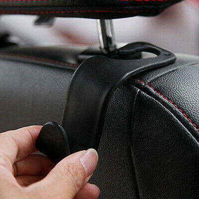 $1.25 • Buy 1x Black Car Seat Hook Purse Hanger Bag Organizer Holder Clip Accessories