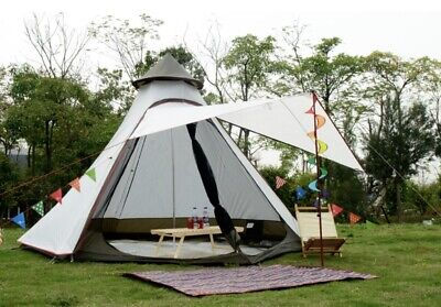 AU219 • Buy AU Ship Light Weight Waterproof Pyramid Indian Tipi Tent Camping Teepee Tent