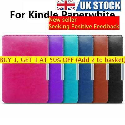 Ultra Slim Leather Smart Case Magnetic Protective Cover For Amazon Kindle  • 7.75£