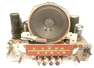 $ CDN55.29 • Buy Vintage SILVERTONE 7054 TABLETOP AM RADIO: Untested CHASSIS 101.808 W/ 6 TUBES