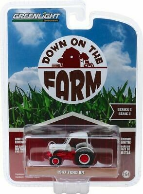 AU5.44 • Buy Greenlight 1/64 Down On The Farm Series 3 1947 Ford 8N Tractor W/ Canopy 48030A